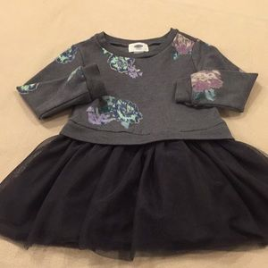 EUC Old Navy Dress with tulle skirt, 3t